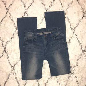 GAP Premium Mid Rise Medium Wash Bootcut Jeans